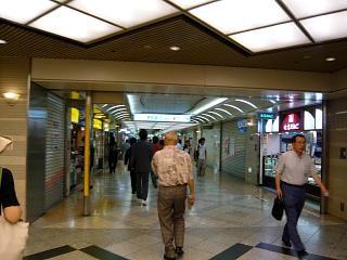 20120727堂島地下街