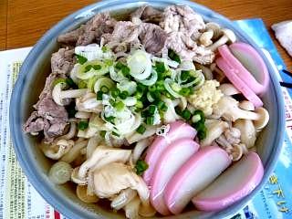 20110807日の出製麺所うどん(その1)