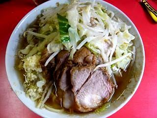 20110827ラーメン二郎三田本店(その4)