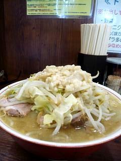 20111008ラーメン二郎品川店(その4)