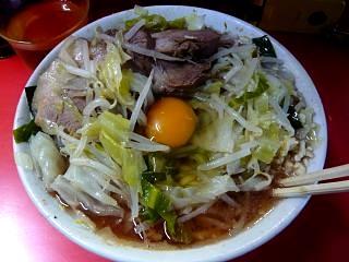 20111126ラーメン二郎三田本店(その6)