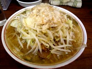 20120901ラーメン二郎品川店(その1)