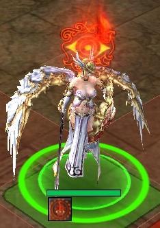 女神の意志エフェクト