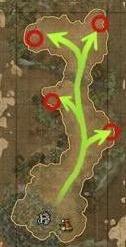 拉致されたドゴン族呪術師マップ