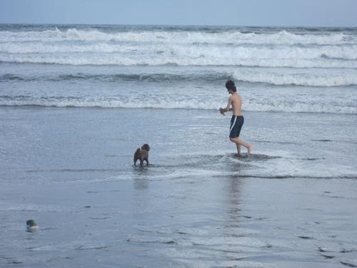 ザックと海