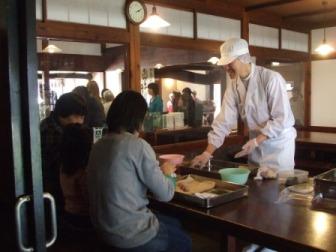 桜餅体験2