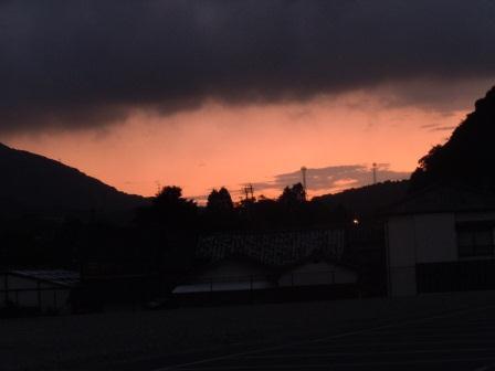 2011‐09‐01の夕景1