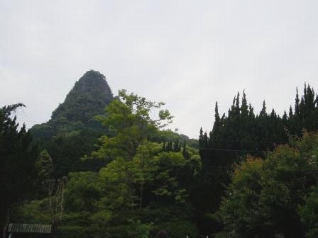 如蘭塾からの御船山