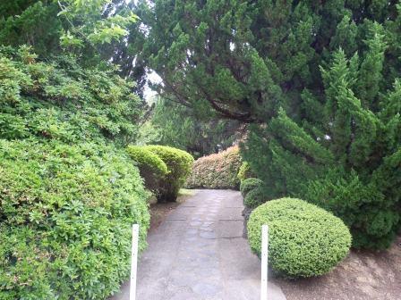 如蘭塾 庭園内