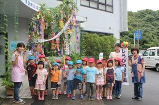 七夕飾り1(2012-07-03 )