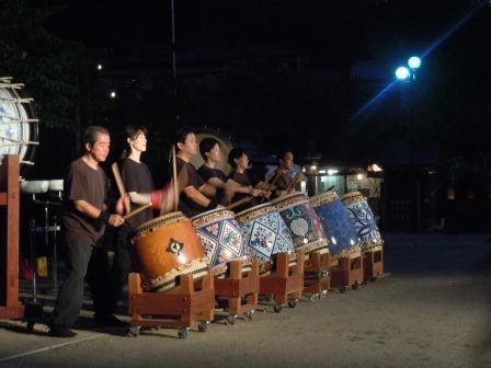 陶山神社夏祭り1(2012-08-03)