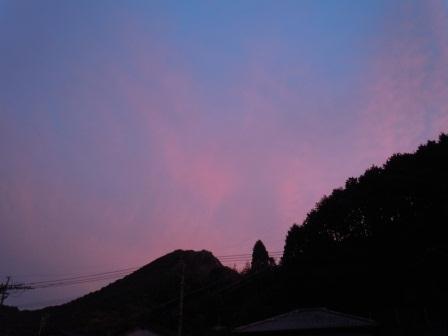 朝焼けの空3(2012-08-24)