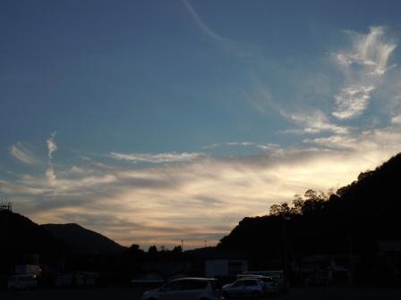 夕景(2012-09-11 18:13)