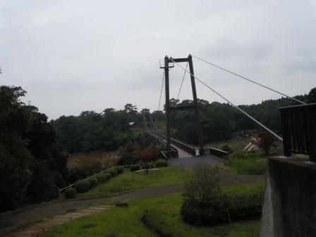 野岳湖吊り橋4(2012‐09-29)