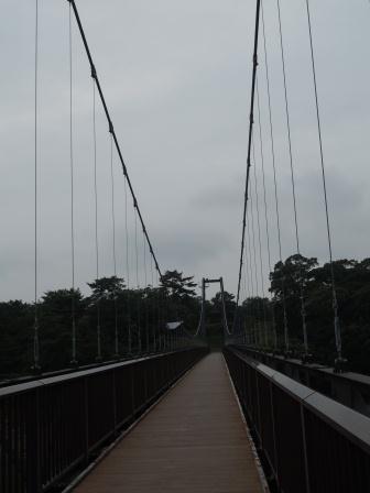 野岳湖吊り橋1(2012‐09-29)
