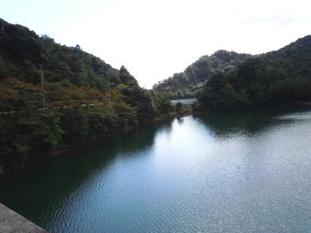 有田ダム「秘色の湖」1(2012-10-04)