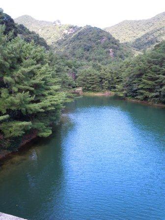 有田ダム「秘色の湖」2(2012-10-04)