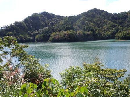 有田ダム『秘色の湖」8(2012-10-04)