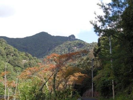 有田ダムかたの黒髪山(2012-10-04)