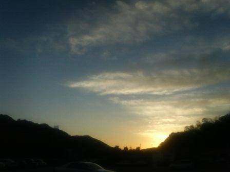 夕景1(2012-10-12)