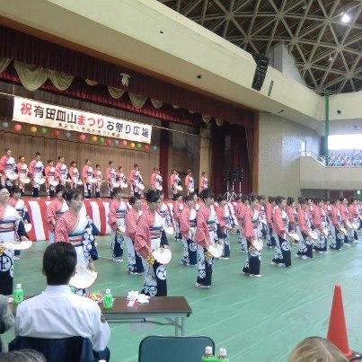 おくんち当番町七区の所望踊り