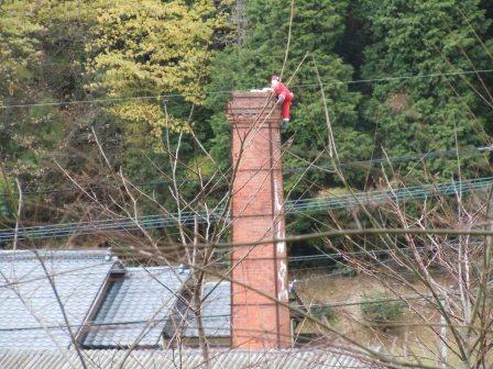 煙突にサンタ1(2012-12-18)