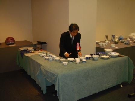 碗琴(2005-03-23 日本橋髙島屋会場)