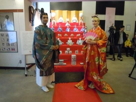 磁器製ひな人形七段飾り(2013-02-09)