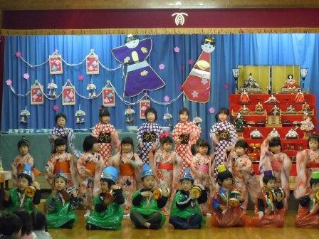 しらかわ保育園「ひなまつり」1(2013-03-01)