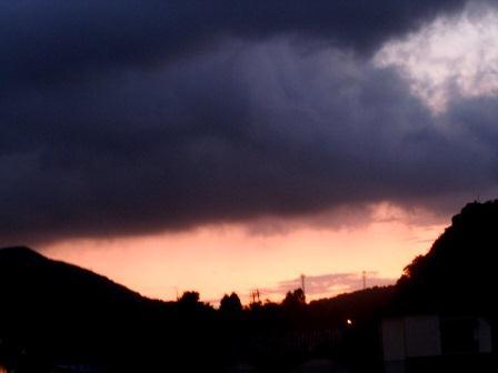 2011‐09‐01の夕景2