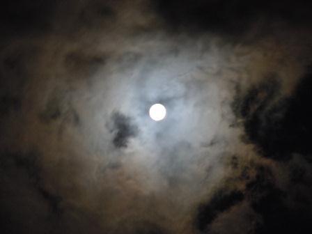 中秋の月(2011-09-13)