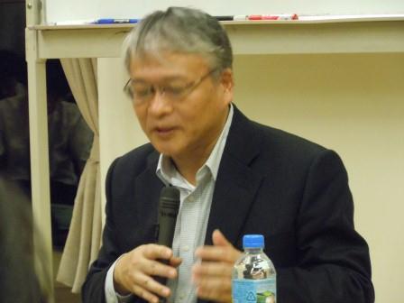 加藤治郎さん講演会1(2011-11-12)