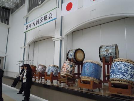 有田磁器太鼓初打ち2(2012-01-03)