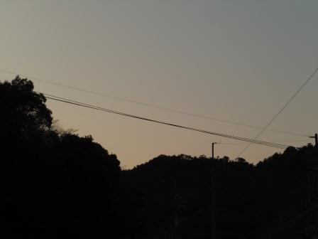 夕景1(2012-01-21)