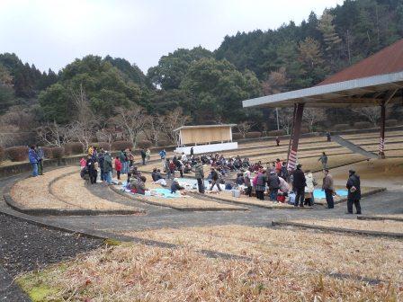 石場相撲場2(2012-01-28)