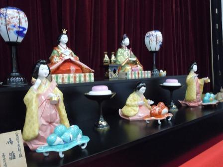 世界最大のひな人形(香蘭社)