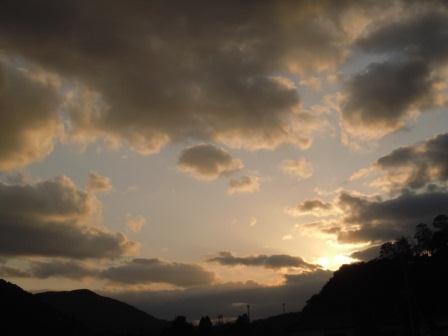 2012-03-11の夕景