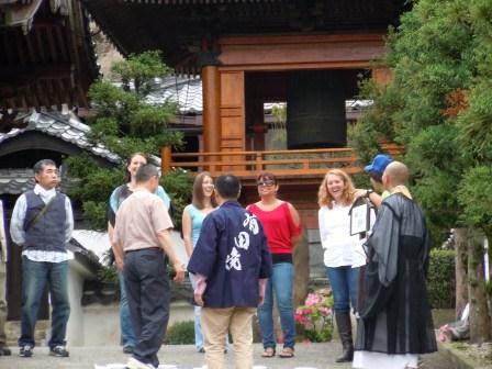 桂雲寺本番前スタンバイ
