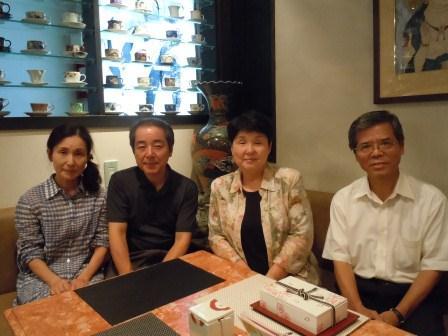 ギャラリー有田にて食事会(2012-09-17)