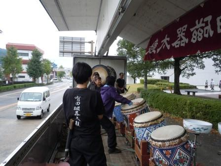 有田磁器太鼓2(2012-10-17)