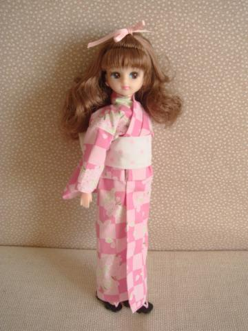 licca yukata sakura
