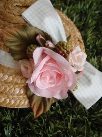 hat pink rose2