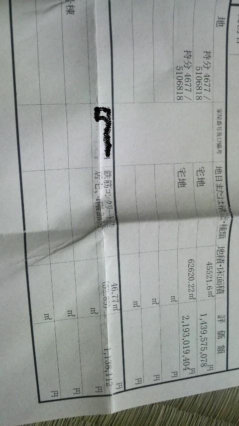 金杉台不動産取得税1