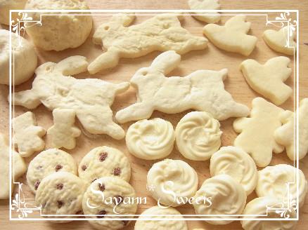 生焼けクッキー