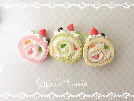 小さいロールケーキ