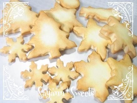 クリスマスクッキー焼けました