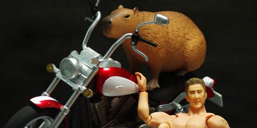 exrideアメリカンバイク&カピバラレビュー