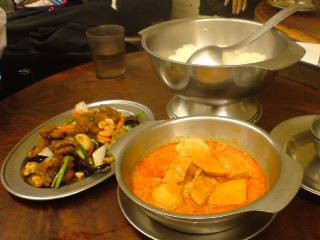 タイ料理@あろいなたべた