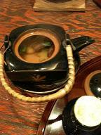 シイタケ土瓶蒸し
