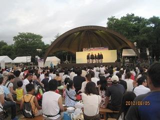 桃花台祭り1